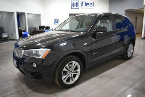 2015 BMW X3 for sale at iDeal Auto Imports in Eden Prairie MN