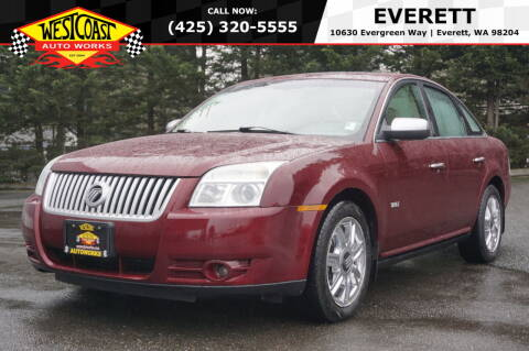 2008 Mercury Sable for sale at West Coast Auto Works in Edmonds WA