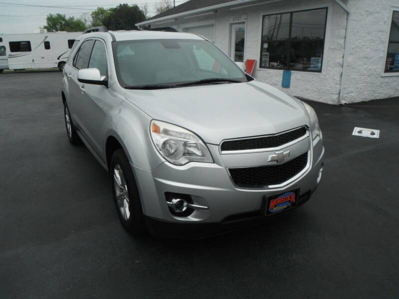 2012 Chevrolet Equinox for sale at Morelock Motors INC in Maryville TN