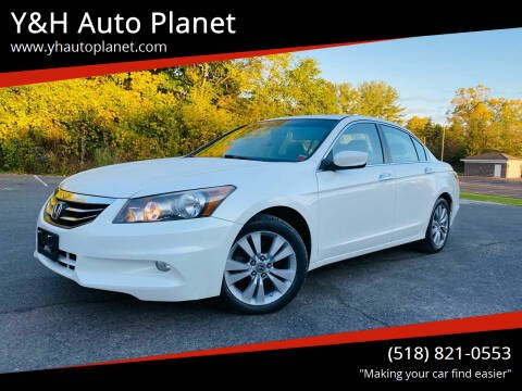 2012 Honda Accord for sale at Y&H Auto Planet in West Sand Lake NY