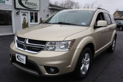 2011 Dodge Journey for sale at Randal Auto Sales in Eastampton NJ