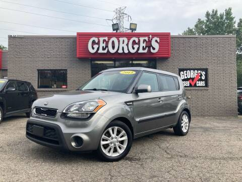 2013 Kia Soul for sale at George's Used Cars - Telegraph in Brownstown MI