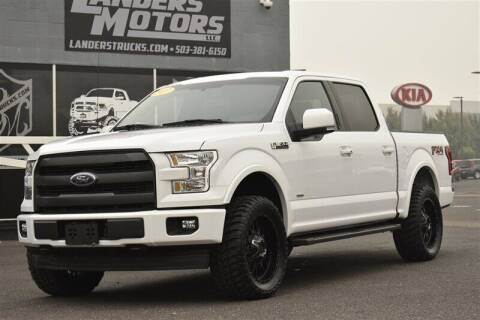 2017 Ford F-150 for sale at Landers Motors in Gresham OR