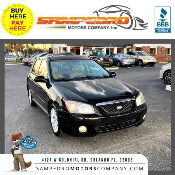 2005 Kia Spectra for sale at SAMPEDRO MOTORS COMPANY INC in Orlando FL