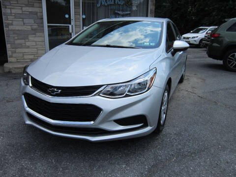 2018 Chevrolet Cruze for sale at Marks Automotive Inc. in Nazareth PA