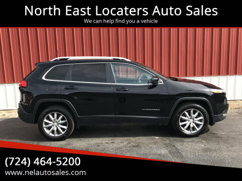 2018 Jeep Cherokee for sale at North East Locaters Auto Sales in Indiana PA