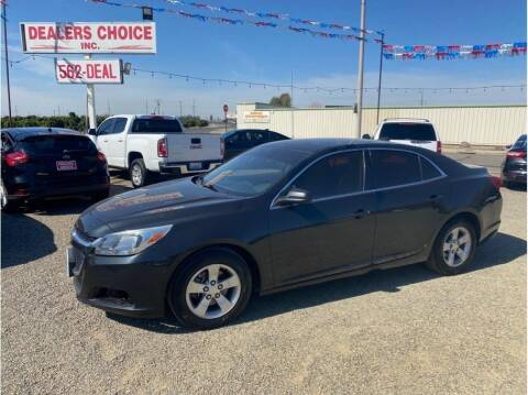 2015 Chevrolet Malibu for sale at Dealers Choice Inc in Farmersville CA