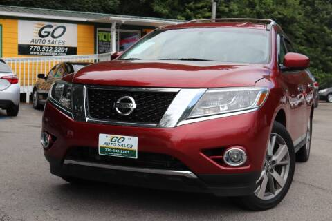2013 Nissan Pathfinder for sale at Go Auto Sales in Gainesville GA