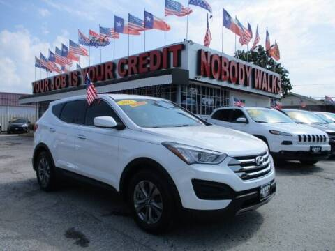 2016 Hyundai Santa Fe Sport for sale at Giant Auto Mart 2 in Houston TX