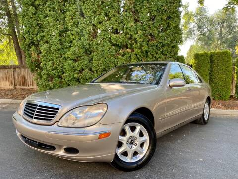 2001 Mercedes-Benz S-Class for sale at ALIC MOTORS in Boise ID