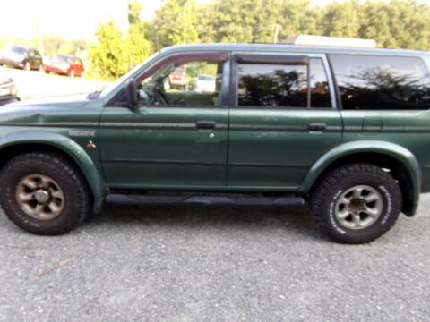 1997 Mitsubishi Montero Sport for sale at West End Auto Sales LLC in Richmond VA