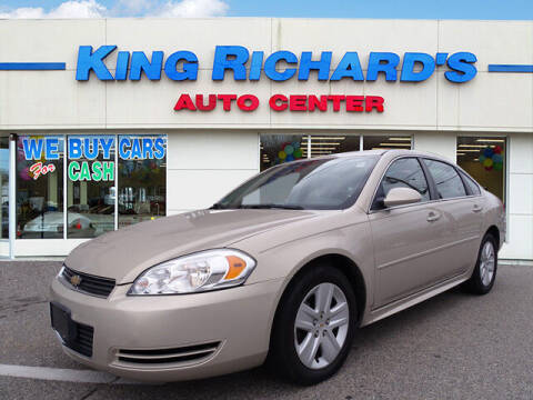 2011 Chevrolet Impala for sale at KING RICHARDS AUTO CENTER in East Providence RI