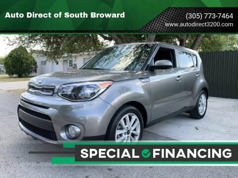 2018 Kia Soul for sale at Auto Direct of South Broward in Miramar FL