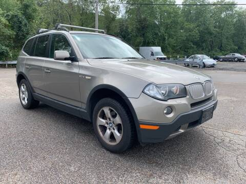 2007 BMW X3 for sale at George Strus Motors Inc. in Newfoundland NJ