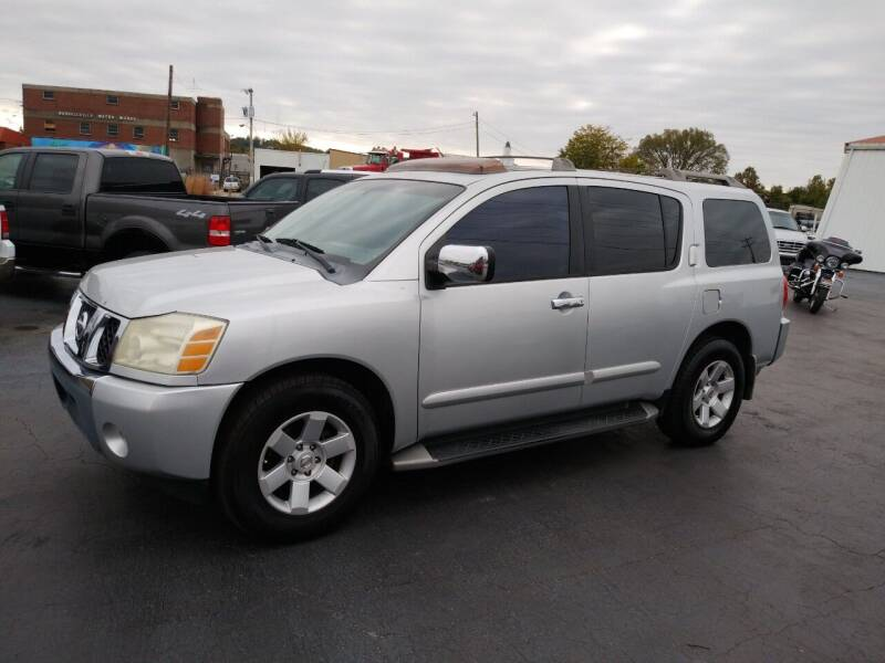 2004 Nissan Armada for sale at Big Boys Auto Sales in Russellville KY
