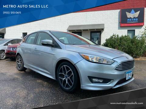 2015 Ford Focus for sale at METRO AUTO SALES LLC in Blaine MN