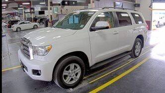 2017 Toyota Sequoia for sale at Coast to Coast Imports in Fishers IN
