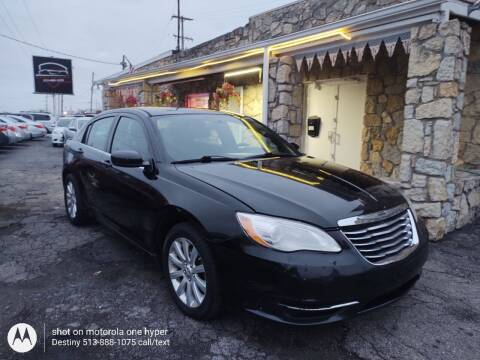 2013 Chrysler 200 for sale at DestanY AUTOMOTIVE in Hamilton OH