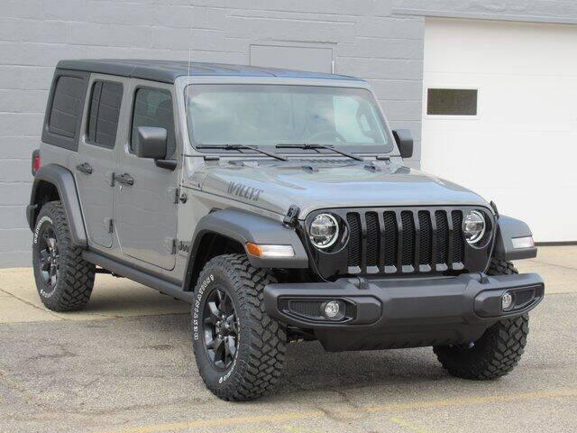 2021 Jeep Wrangler Unlimited for sale at K&M Wayland Chrysler  Dodge Jeep Ram in Wayland MI