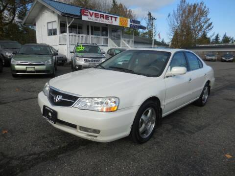 2003 Acura TL for sale at Leavitt Auto Sales and Used Car City in Everett WA