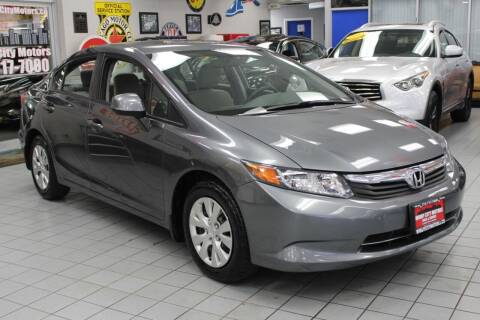 2012 Honda Civic for sale at Windy City Motors in Chicago IL