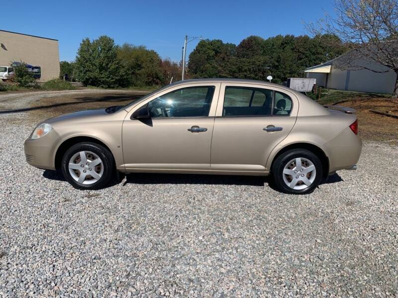 2007 Chevrolet Cobalt for sale at MEEK MOTORS in North Chesterfield VA