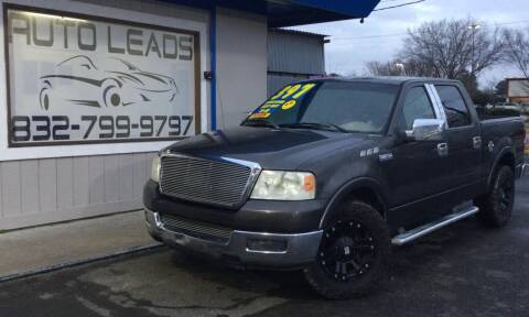 2005 Ford F-150 for sale at AUTO LEADS in Pasadena TX