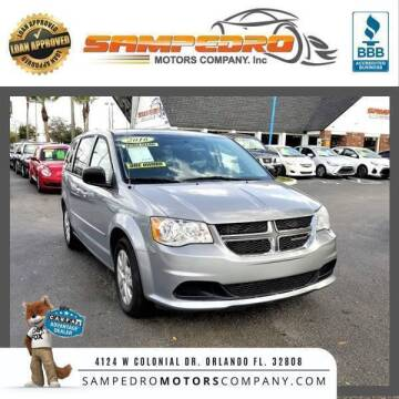 2016 Dodge Grand Caravan for sale at SAMPEDRO MOTORS COMPANY INC in Orlando FL