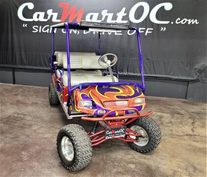2002 Club Car CUSTOM MADE CART for sale at CarMart OC in Costa Mesa, Orange County CA