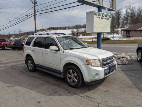 2009 Ford Escape for sale at Route 22 Autos in Zanesville OH