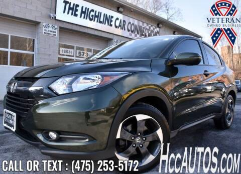 2018 Honda HR-V for sale at The Highline Car Connection in Waterbury CT