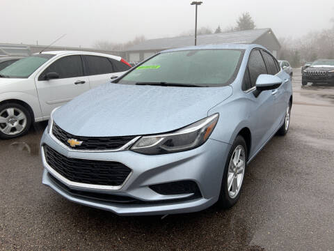 2018 Chevrolet Cruze for sale at Blake Hollenbeck Auto Sales in Greenville MI