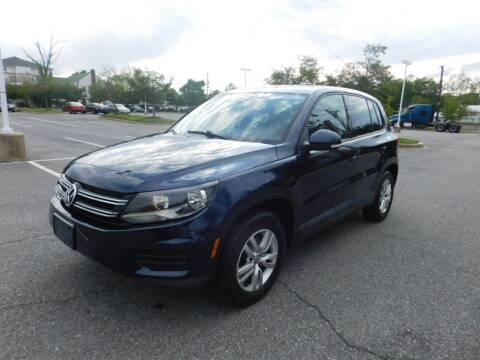2012 Volkswagen Tiguan for sale at AMERICAR INC in Laurel MD