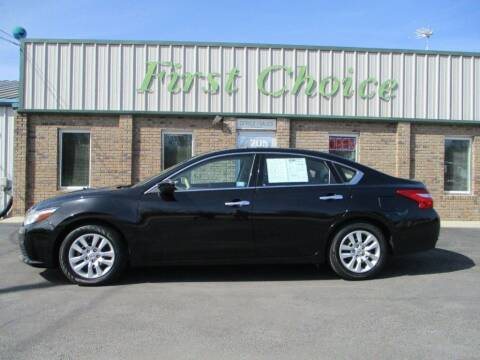 2016 Nissan Altima for sale at First Choice Auto in Greenville SC