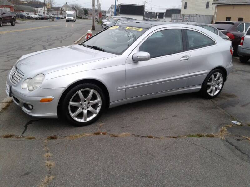 2005 Mercedes-Benz C-Class for sale at Nelsons Auto Specialists in New Bedford MA
