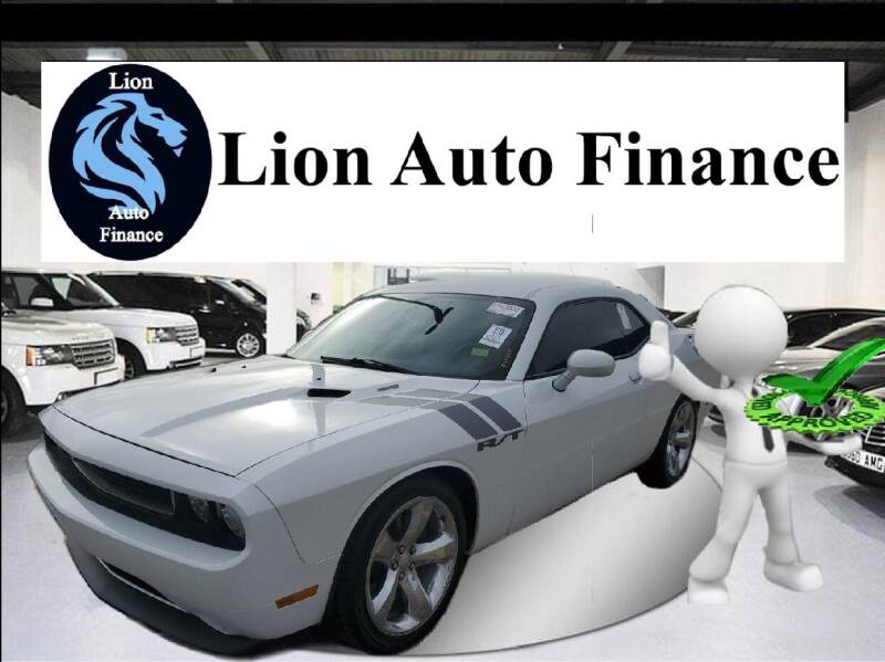 2014 Dodge Challenger for sale at Lion Auto Finance in Houston TX