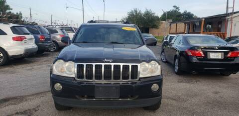 2005 Jeep Grand Cherokee for sale at Anthony's Auto Sales of Texas, LLC in La Porte TX