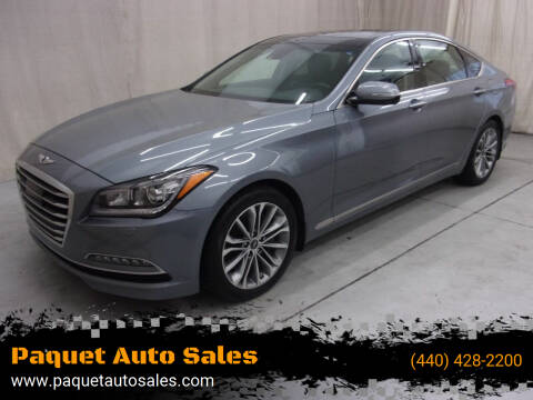 2017 Genesis G80 for sale at Paquet Auto Sales in Madison OH
