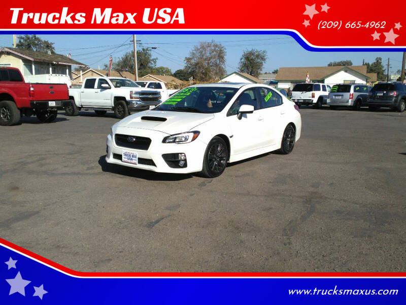 2015 Subaru WRX for sale at Trucks Max USA in Manteca CA