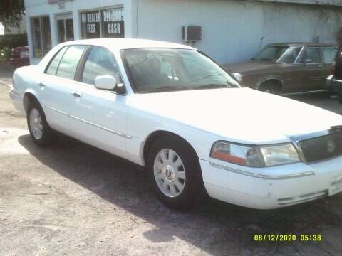 2003 Mercury Grand Marquis for sale at ROYAL MOTOR SALES LLC in Dover FL