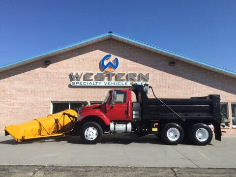 2006 International Dump Plow for sale at Western Specialty Vehicle Sales in Braidwood IL
