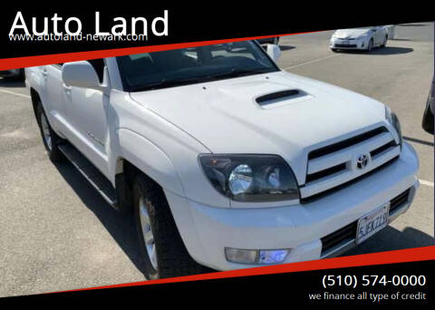 2005 Toyota 4Runner for sale at Auto Land in Newark CA