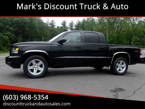 2011 RAM Dakota for sale at Mark's Discount Truck & Auto in Londonderry NH