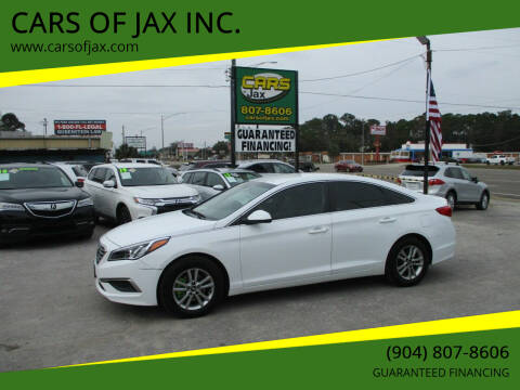 2017 Hyundai Sonata for sale at CARS OF JAX INC. in Jacksonville FL