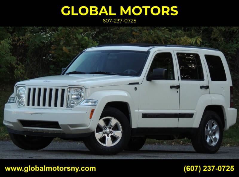 2010 Jeep Liberty for sale at GLOBAL MOTORS in Binghamton NY
