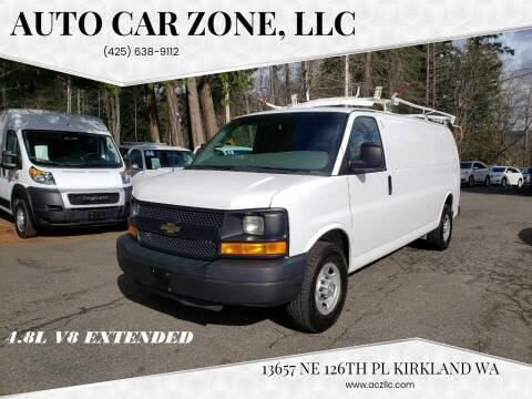 2016 Chevrolet Express Cargo for sale at Auto Car Zone, LLC in Kirkland WA