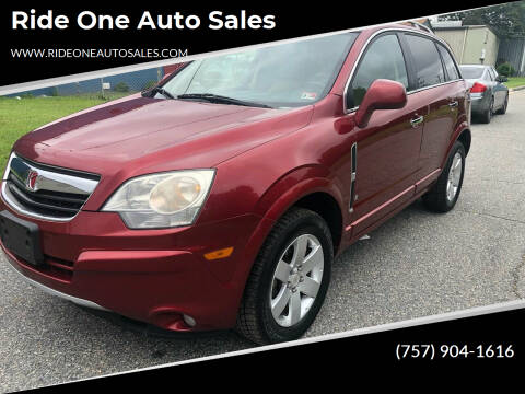 2009 Saturn Vue for sale at Ride One Auto Sales in Norfolk VA
