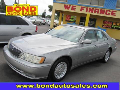 2001 Infiniti Q45 for sale at Bond Auto Sales in St Petersburg FL