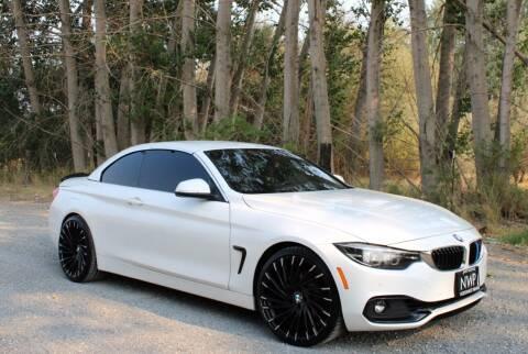 2018 BMW 4 Series for sale at Northwest Premier Auto Sales in West Richland WA