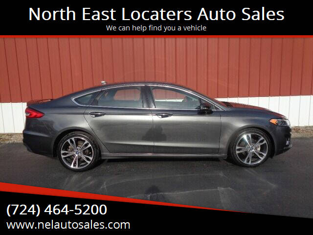 2019 Ford Fusion for sale at North East Locaters Auto Sales in Indiana PA